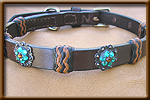 dog and collar combination set